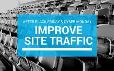 Improve site traffic after holidays