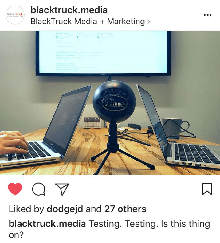 BlackTruck Media on Instagram: recording the Redirect Podcast
