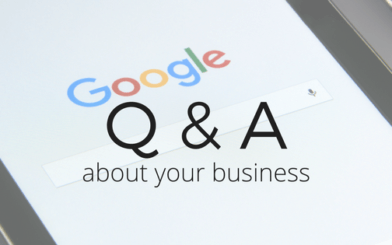 Questions and Answers on your Google Business Listing
