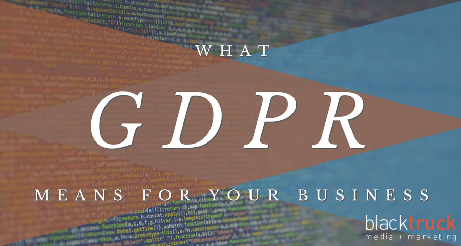 Header image – What GDPR means for your business