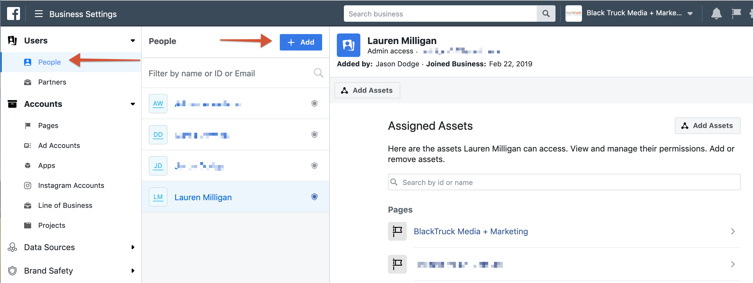 how to add users to your facebook business manager